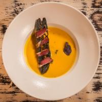 Крем супа от кестени и тиква