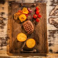 Бон филе в сос от пипер и трюфел