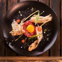 Класически тартар от  телешко бон филе